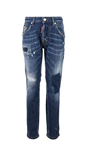 DSQUARED2 Kinder Skater Jeans blau 4 Years Blue