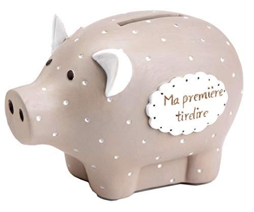 Amadeus les petits Cochon Tirelire Ma première Tirelire