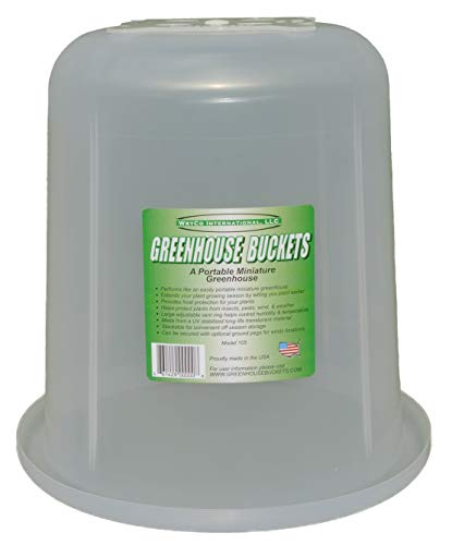 Greenhouse Buckets - 3 Pack, The Ultimate Garden Cloche