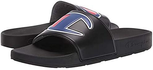 Champion Mens Ipo Big C Logo Slide Sandal