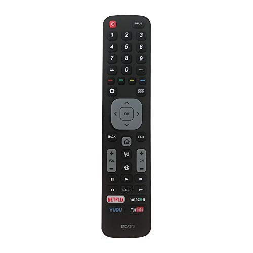 New Replacement Sharp TV Remote Control EN2A27S Compatible with Sharp Remote Control LCD LED HDTV Smart TV Remote Control 55H6B 50H7GB 50H6B N6200U LC-40N5000U LC-55N620CU LC-75N620U
