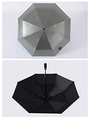 BDDLLM Regenschirm Automatisierungsregenschirm für Frau, die Lichtkinder faltet, Sonnenschirmjungenmädchenmode chinesische Unternehmen Reisen Autoregenregenschirme fürMannarmee