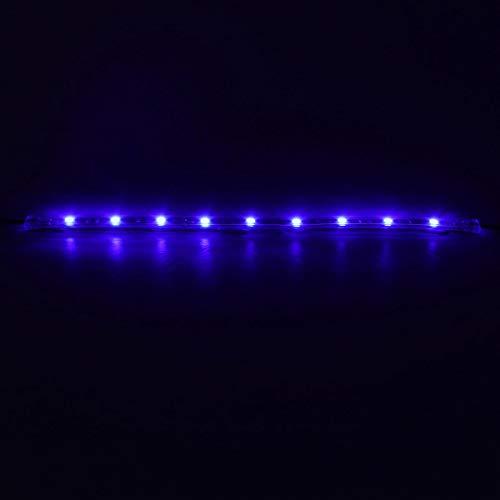 LICHONGUI 14 stücke 12 Zoll blau 5050 126led schlanke Streifen Dekoration Beleuchtung Auto neon Accent untercar Glow Beleuchtung universal 12v