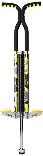 Think Gizmos Pogo Stick for Riders 80lbs to 160lbs - Pogo Stick for Boys & Girls (& Light Adults) - Quality Solid Construction (Yellow)