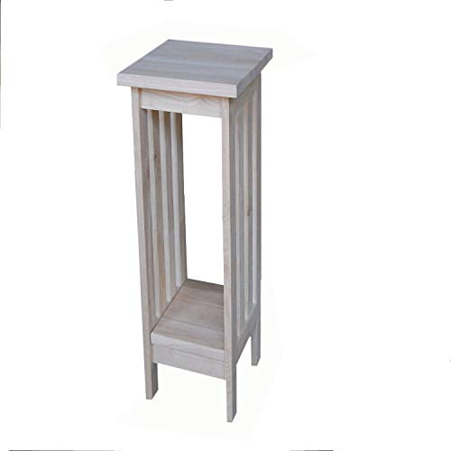 """International Concepts Mission Plant Stand 24"""" H"""