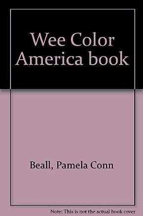 Wee Color America Book