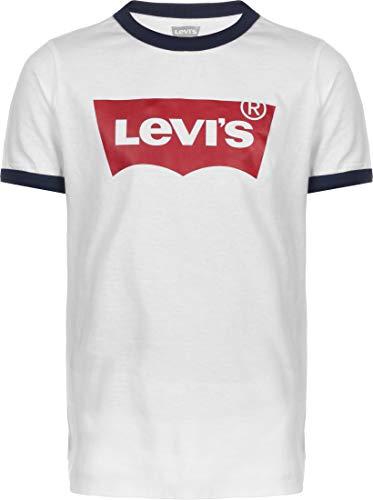 Levi's kids Lvb Batwing Ringer Tee Camiseta para Niños