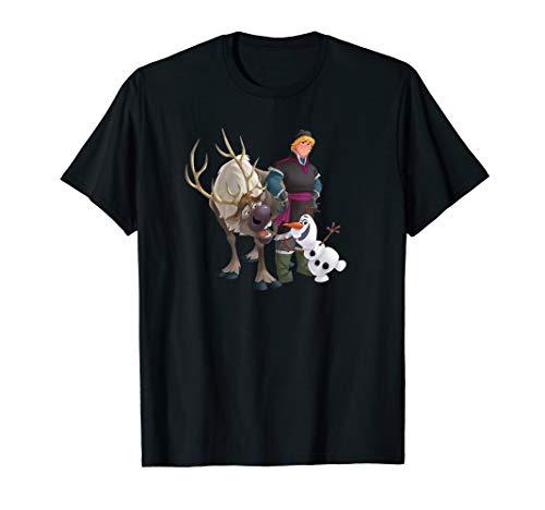 Disney Frozen Kristoff Olaf Sven T-Shirt