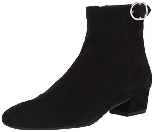 Aquatalia womens Bootie Ankle Boot, Black, 7.5 US