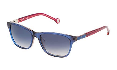Carolina Herrera SHE643540D25 Gafas de sol, Azul, 54 para Mujer