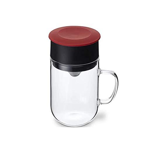 Koffiezetkit, koffiezetter, roestvrijstalen filter zonder filterpapier, gemakkelijk schoon te maken, gebruikt op kantoor, familierestaurant