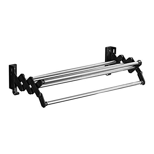 ZCXBHD Tendedero Extensible Práctico Tendal Plegable para Secar Ropa En El Lavadero Tendedero Extensible Ideal para Ahorrar Espacio (Size : 40 * 21cm)