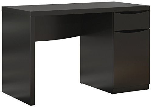 Bush Furniture Montrese Small Computer Desk in Classic Black