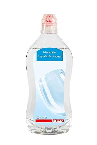 Miele GSA Geschirrspülerzubehör / Klarspüler 500 ml / für beste Trocknung und Schonung / Strahlender Glanz für Ihre Gläser