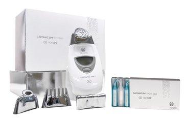 AgeLOC® Edition Nu Skin Galvanic Spa System II Behandlungsset + 2Galvanic Spa Gesichtsgels