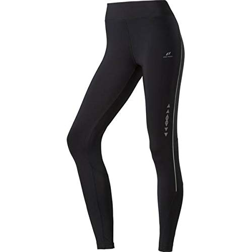 Pro Touch Damen Tight lang Palani III Laufhose, Black/Black, 38