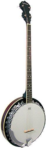 Ashbury AB-35P - Banjo, color blanco y negro