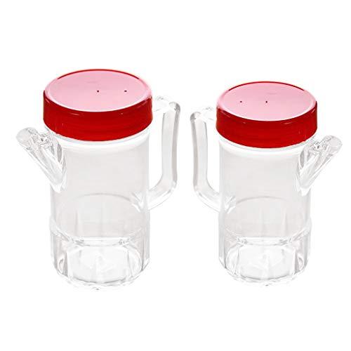Colcolo 2 Piezas de Aceite de Oliva Y Botellas de Vinagre Vinagrera de Cocina 500 Ml / 380 Ml Recipiente de Cocina