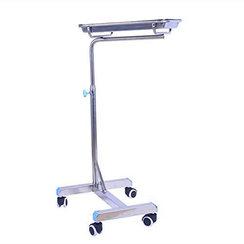 Carrito Carro Portador quirúrgico médico de la Bandeja del Acero Inoxidable, Camiones de Plataforma de la cirugía del Carro del Equipo de la Sala de Operaciones para la clínica o el Hospital