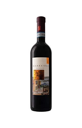 Marraioli Sannio DOP Aglianico Riserva 2016 vino biologico - confezione da 3 bottiglie
