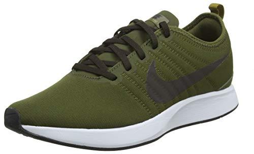 Nike Men's Dualtone Racer Gymnastics Shoes, White (White/Pure Platinum/White/Blac 102), 11 UK
