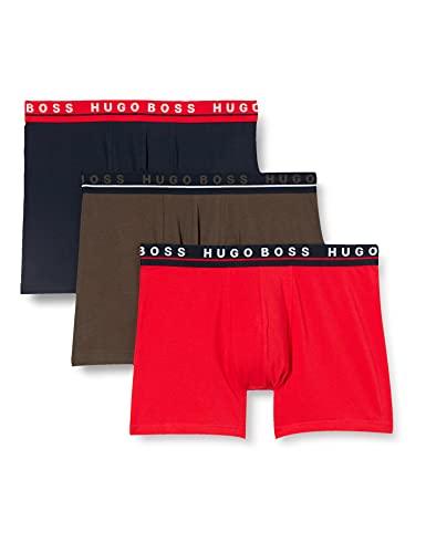 BOSS Boxer Brief 3p Co/El Bxer, Open Miscellaneous988, S para Hombre