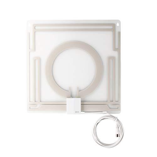 DXアンテナテレビアンテナ室内アンテナペーパーアンテナUHF対応避雷簡単設置VUS20A