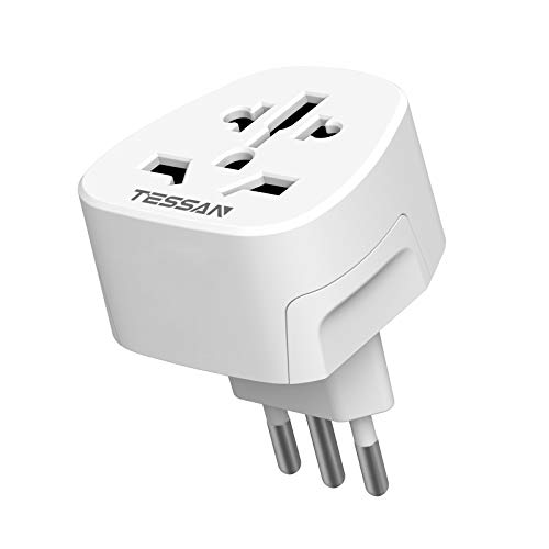 TESSAN Adaptador Enchufe