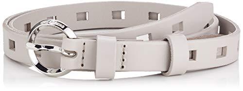Liebeskind Damen Belt04Pf9 Bevacc Gürtel, Grau (String Grey 9110), (Herstellergröße:85)
