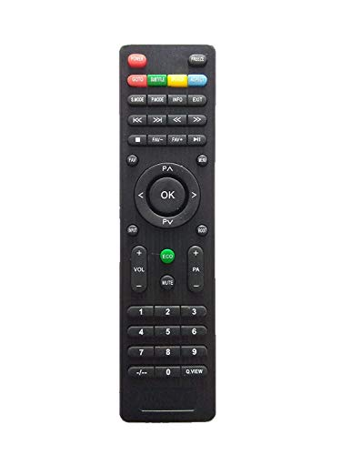 CellwallPRO® Universal Remote Control Compatible for Micromax 3 LED/LCD TV (Please Match Your Old Before Buy)