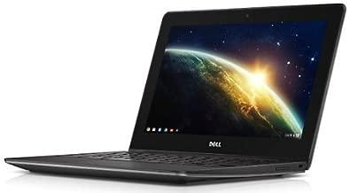 Dell Chromebook 11 11.6-Inch LED Notebook (Intel Core i3 i3-4005U 1.70 GHz, 4GB memory, 16GB SSD) Foggy Night