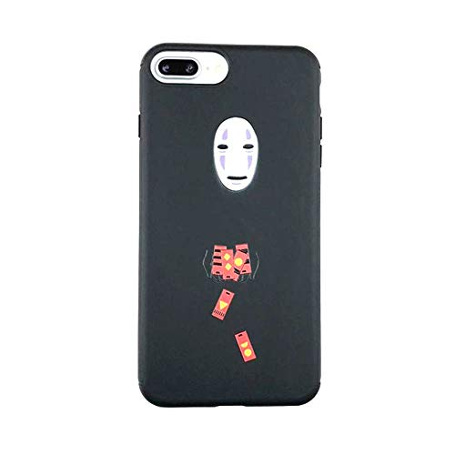 for iPhone Xs Max Case, for iPhone Xs Max Cover, Cute Japan Cartoon Anime My Neighbor Totoro Soft Silicone Case Cover for iPhone Xs Max XR 6S 7 8 Plus (No Face Man, for iPhone Xr)