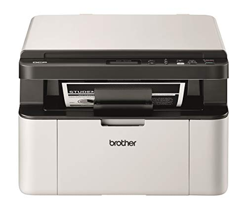Brother DCP-1610W Multifunktions-Laserdrucker Compact 3 in 1 – Monochrom – A4 – Iprint & Scan – WLAN