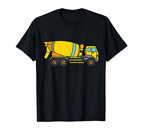 Betonmischer Kinder T-Shirt