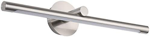 Modern LED Picture Lights 24 4 Inch Jusheng Brushed Nickel Metal Artwork Sconces Lamps 14W 70W product image