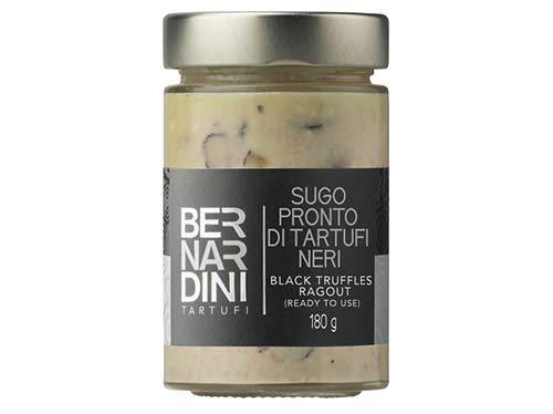 Fertige Sauce aus schwarzer Trüffel 180g – Bernardini Tartufi