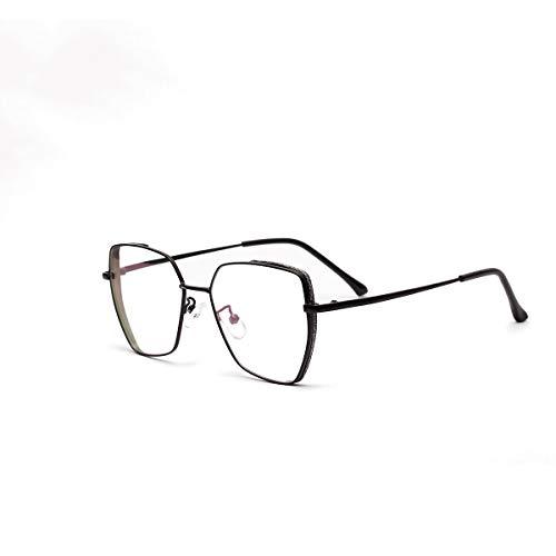 RUIXFPU Komfortabel Blaue Licht Blockieren Brille, Anti-Augen-Müdigkeit, Computer Lesebrillen, Gaming Brille, TV Brille für Frauen Männer, Anti Glare Leicht, 2