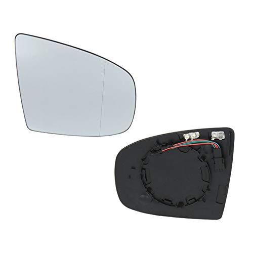 Qwjdsb para BMW X5 E70 2006 2013 X6 E71 E72 2007-2014, Vidrio de Espejo con calefacción Izquierda Derecha con Alambre 4 Pines Accesorios de Piezas de automóvil