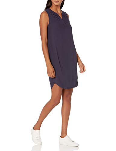Amazon Essentials Sleeveless Woven Shift dresses, Marineblau, M