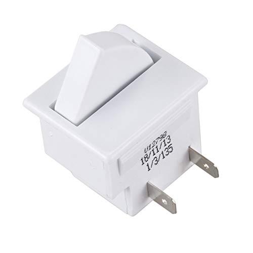 HEYB Interruptor de luz para puerta de refrigerador, repuesto para nevera, cocina, 5 A, 125 V
