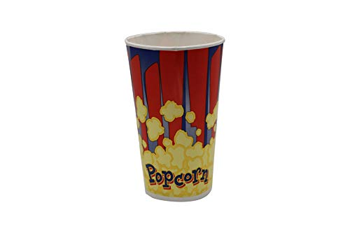Purchase Beach City Wholesalers 44 oz Popcorn Tubs - Red & Blue (600 count)