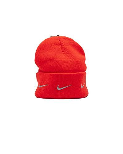 Nike - Gorro para hombre, color rojo y gris