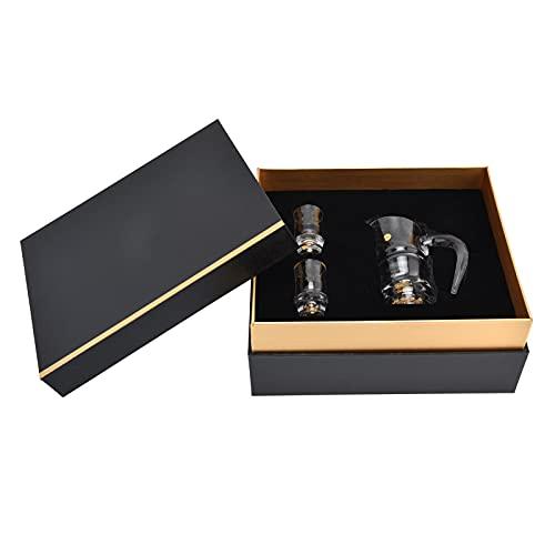 wijnsets Geschenken, wijndispenser Gulden snede Design Exquise en rijk voor wodka Tequila, Cognac, Whisky