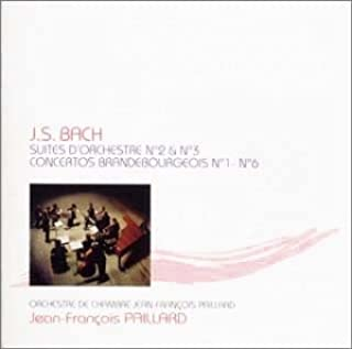 バッハ:管弦楽組曲第2番&第3番・ブランデンブルク協奏曲(全曲)
