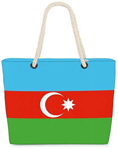 VOID XXL Strandtasche Aserbaidschan Shopper Tasche 58x38x16cm 23L Beach Baku Azerbaijan