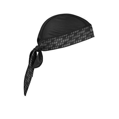 GripGrab Bandana Kopfbedeckungen, Schwarz, One Size (54-63 cm Kopfumfang)