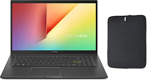 2020 Asus VivoBook 15 S513 15.6' FHD Premium Thin & Light Laptop, AMD 4th Gen Ryzen 7 4700U, 8GB RAM, 1TB PCIe SSD, Backlit Keyboard, Fingerprint Reader, Windows 10 Home + Woov Laptop Sleeve Bundle
