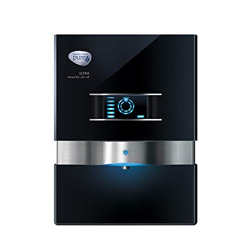 HUL Pureit Ultima Mineral RO + UV + MF 7 stage Table top / wall mountable Black 10 litres Water Purifier