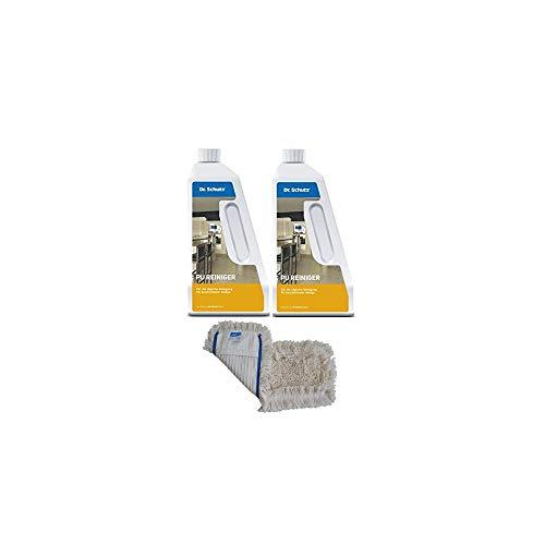 2x Dr. Schutz PU-reiniger (750 ml) incl. wismop