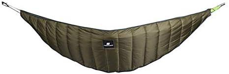 Gesh Utomhus camping hängmatta varm hängmatta undertäcke ultralätt tält vinter varm under täcke filt bomull hängmatta